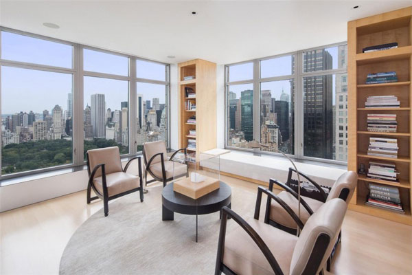 Spectacular manhattan penthouse with impressive city views for Luxury penthouses in manhattan