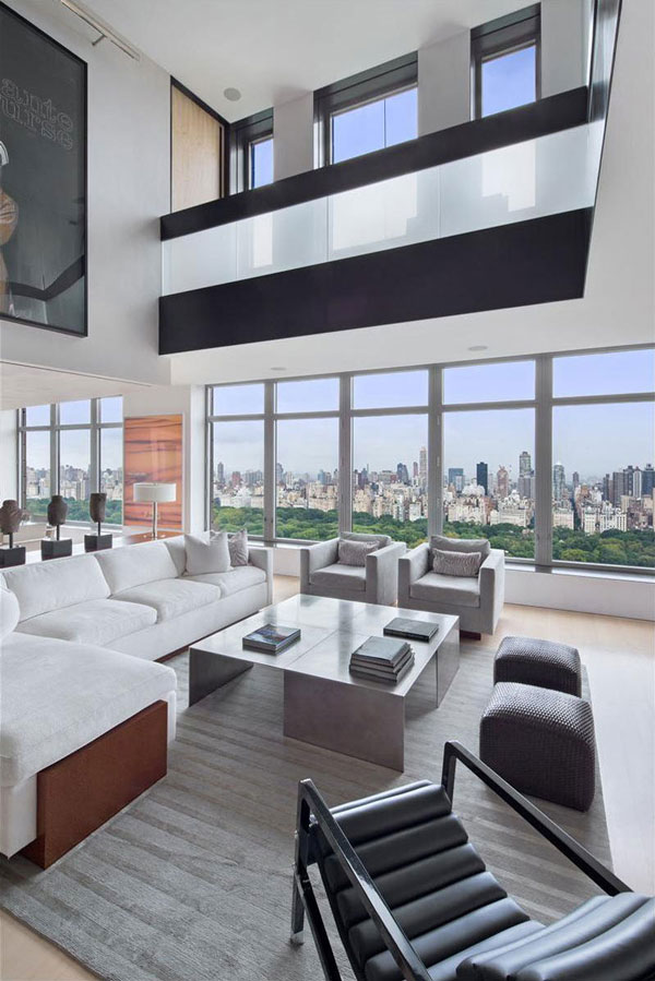 Spectacular manhattan penthouse with impressive city views for Penthouses manhattan for sale