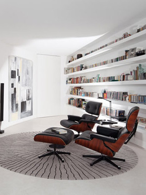 Eames Lounge Media Room