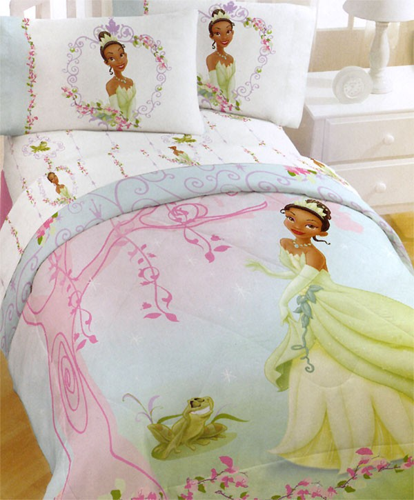 Girls bedding 30 princess and fairytale inspired sheets for Princess themed bed