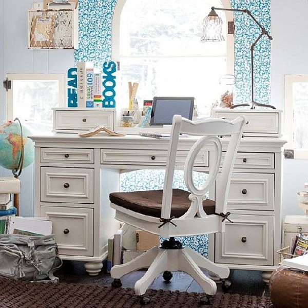 35 contemporary teen workspace ideas to fit in perfectly for Bureau adolescent