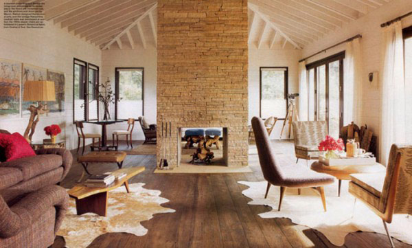 Extravagant fireplace steals the show