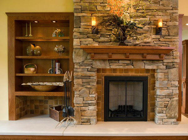 Stone Fireplace Design Ideas fireplace design ideas stone fireplace design interior stone fireplace designs View In Gallery Graceful Fireplace