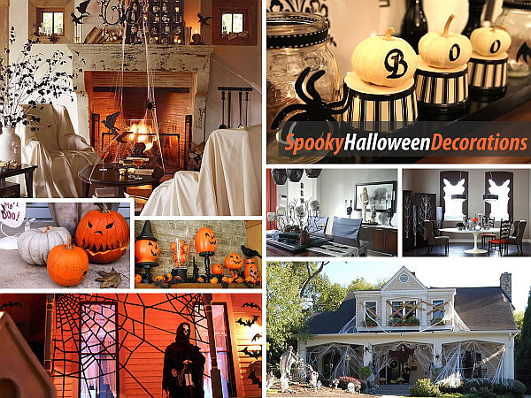40 spooky halloween decorating ideas for your stylish home for Decoration halloween