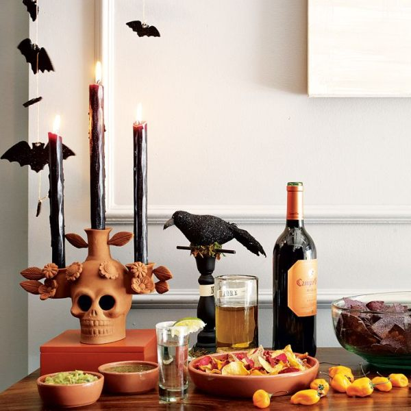 halloween table decorating 3