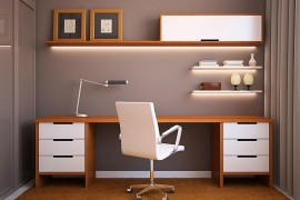 Astounding 20 Home Office Design Ideas For Small Spaces Largest Home Design Picture Inspirations Pitcheantrous