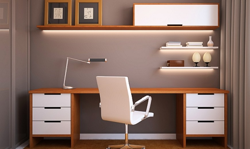 Small Home Furniture Ideas Part - 28: 24 Minimalist Home Office Design Ideas For A Trendy Working Space