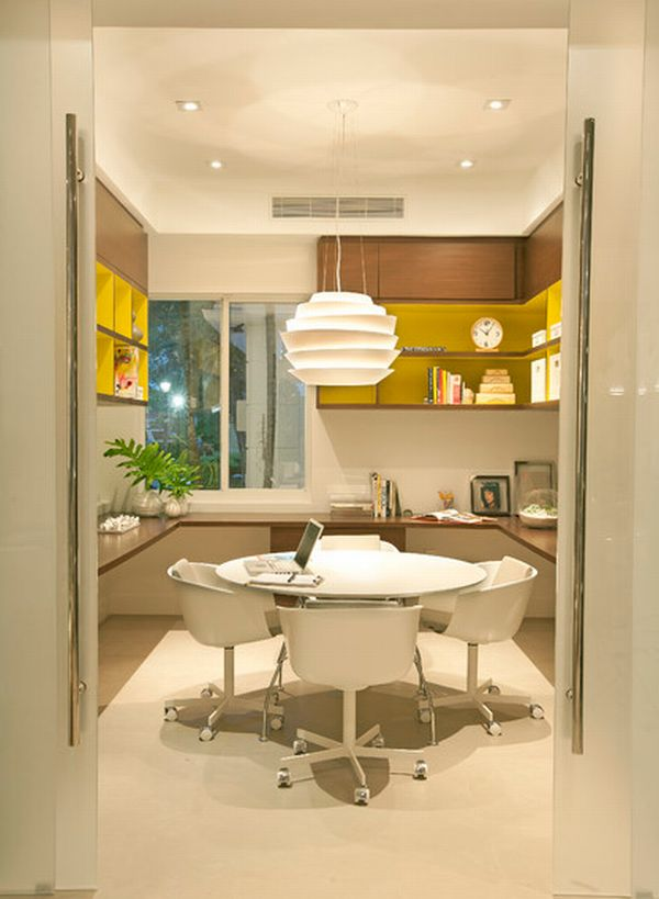 view in gallery home - Modern Home Office Design