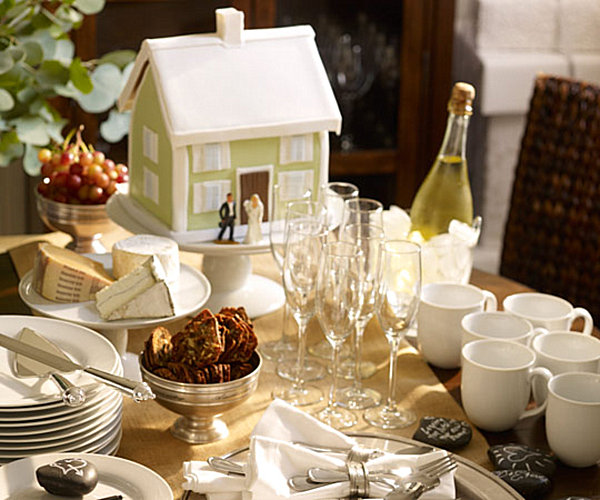 Housewarming party decor by Pottery Barn