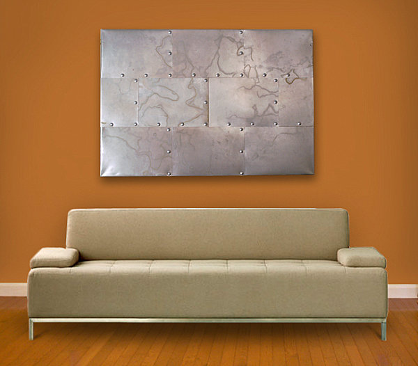 Industrial metal artwork Metal Wall Art That Makes a Statement