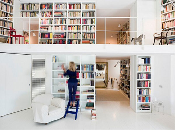 in gallery inspiring home library - Library Design Ideas