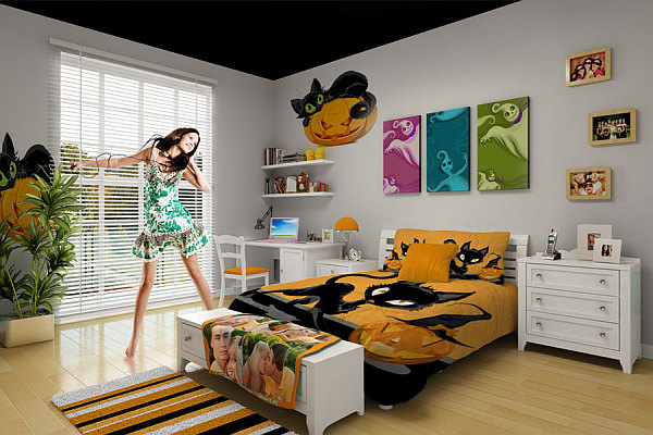 Decorate Bedroom For Halloween Magnificent Decorating