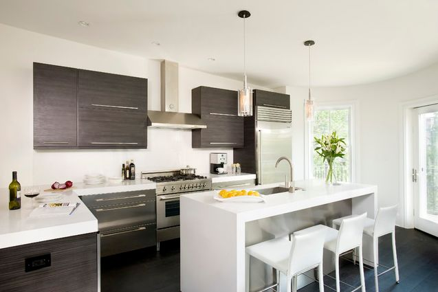 Kitchen remodel 101 stunning ideas for your kitchen design - Modern kitchen ideas with brown kitchen cabinets ...