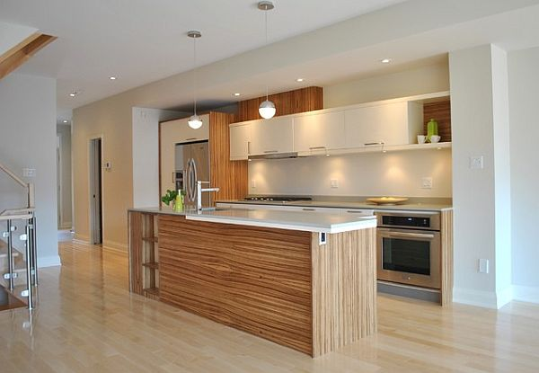 Light and fresh modern kitchen design