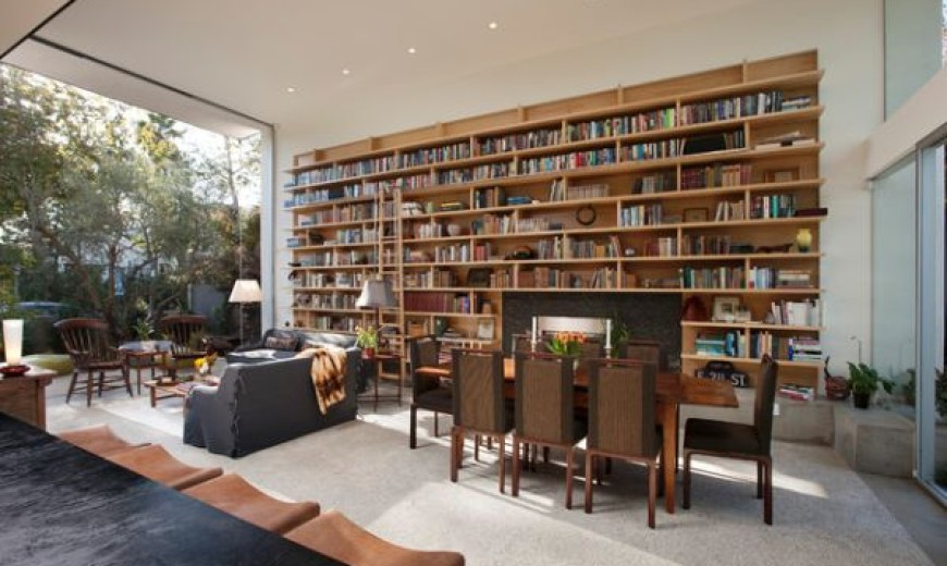 40 home library design ideas for a remarkable interior - Interior Design Living Room 2012