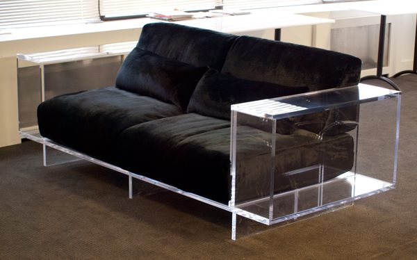 More acrylic furniture finds for a sleek style for How to make lucite furniture