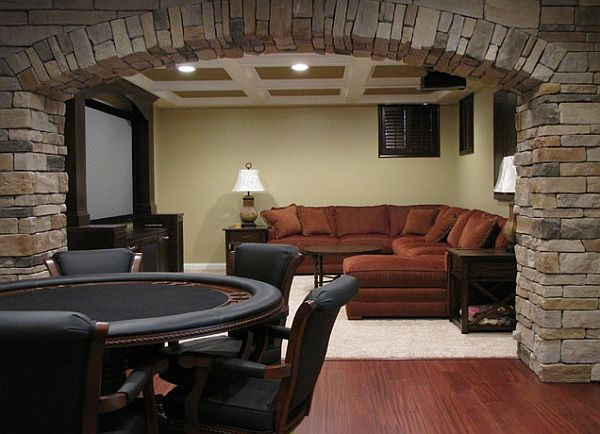 man cave decor with poker table decoist