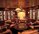 Man cave idea - elegant design for a wine tasting room