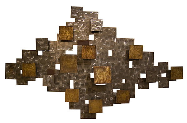 Metal wall art that makes a statement for Decor mural metal