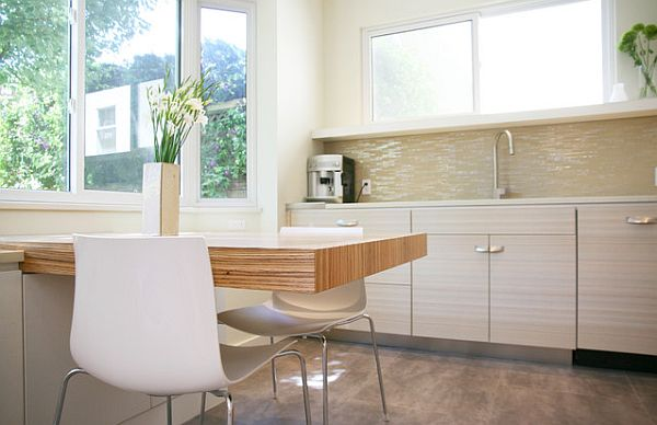 ... Kitchen Furniture And Dark Backsplash Design View In Gallery Minimalist  ...