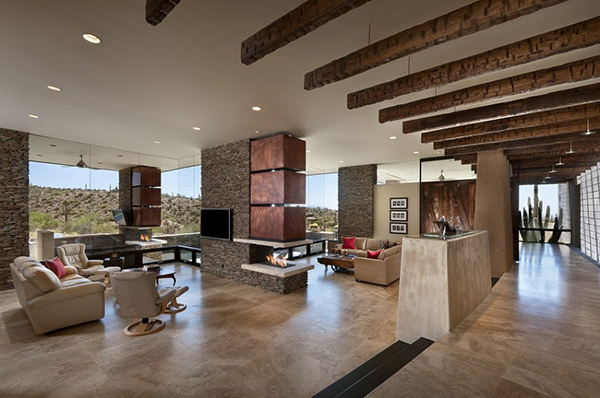 Desert home in arizona has spacious interiors and stunning outdoors - Nieuwe home design ...