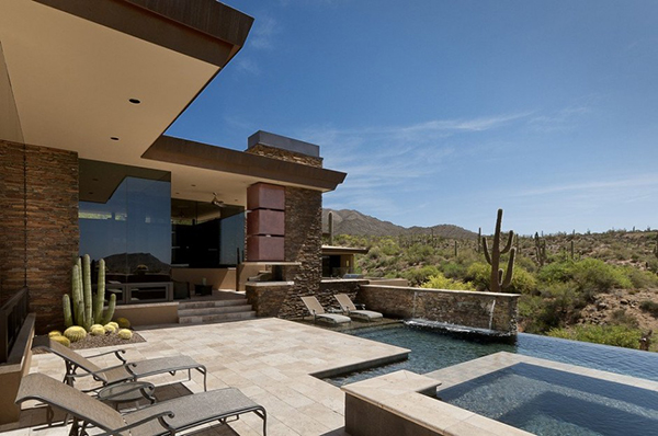 desert home in arizona has spacious interiors and stunning