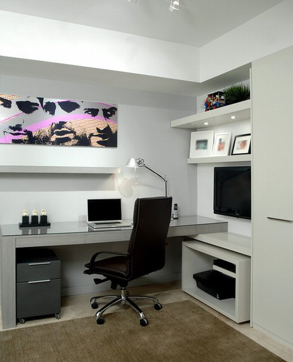 Superb 15 Modern Home Office Ideas Largest Home Design Picture Inspirations Pitcheantrous