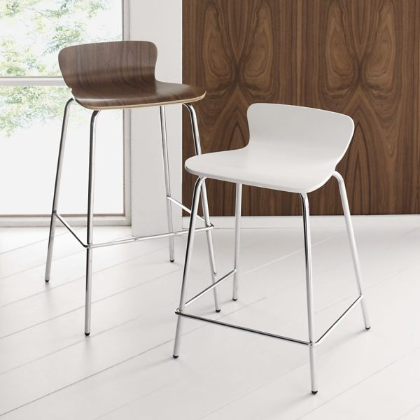 Modern wooden barstools 20 Modern Kitchen Stools For an Exquisite Meal