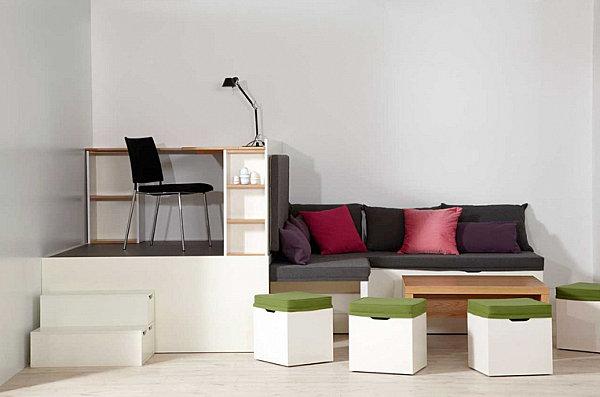 Modular furniture from Matroshka