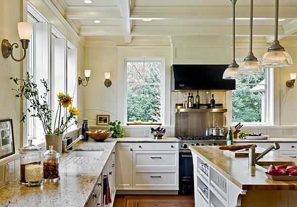 Natural light traditional kitchen remodel Kitchen Remodel: 101 Stunning Ideas for Your Kitchen Design