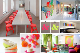 More Neon Interior To Design for a Radiant Home
