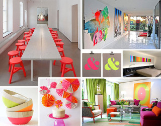 More Neon Interior Design Ideas for a Radiant Home