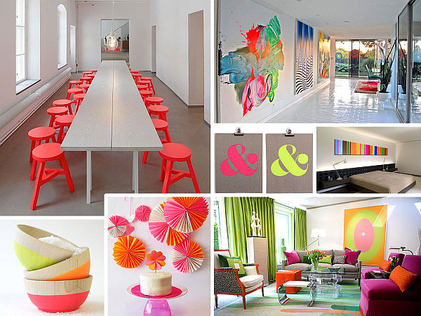 more neon interior design ideas for a radiant home - Ideas For Interior Decoration