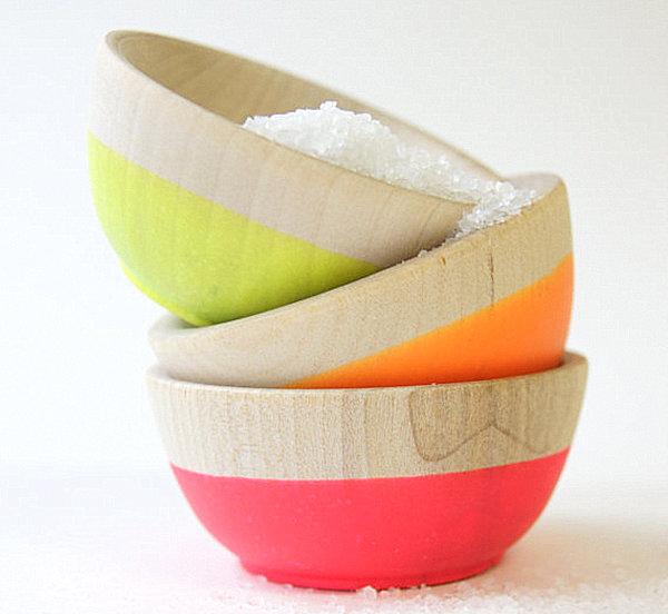 Neon-mini-bowls