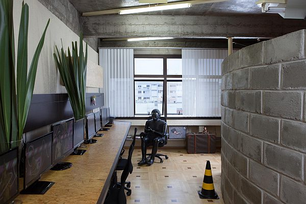Office studio for ALBUS Design Artistic Office for ALBUS Design Studio in Southern Brazil