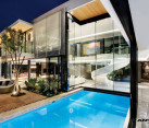 Opulent modern home in Houghton - amazing pool house with plenty of glass