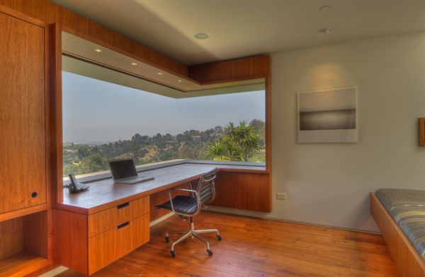 15 modern home office ideas for La fenetre panoramique
