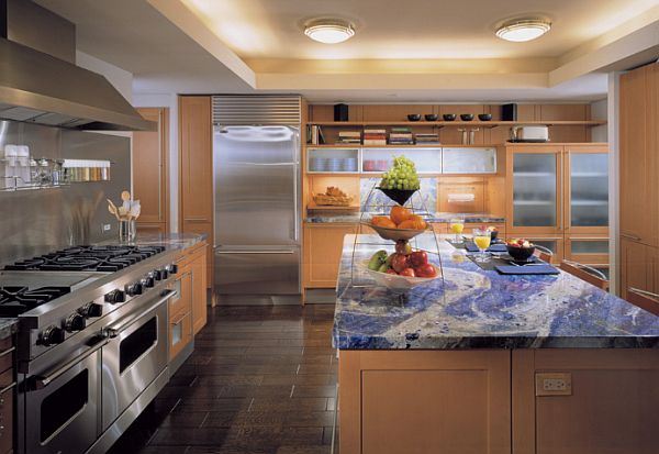 Countertop Alternatives : Sodalite ? a great alternative to kitchen granite countertops