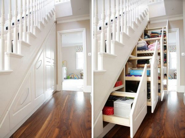 40 under stairs storage space and shelf ideas to maximize for Under the stairs cabinet