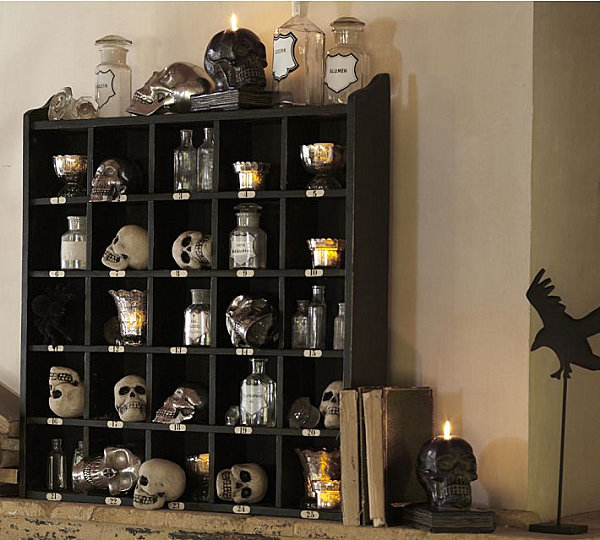 view in gallery spooky halloween decorations - Pottery Barn Halloween Decor
