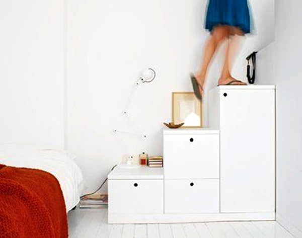 Storage space stairs multi task with ease