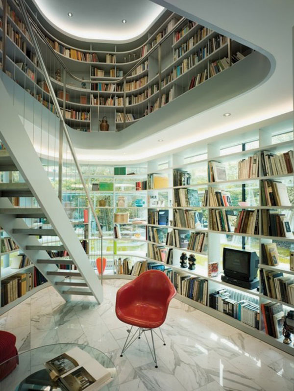 40 home library design ideas for a remarkable interior for Interior house design book