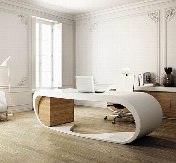 View In Gallery Stunning Home Office Design ...