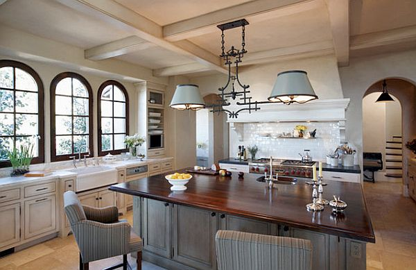 stunning traditional kitchen remodel with fancy chairs and
