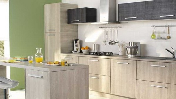 contemporary kitchen collection from conforama. Black Bedroom Furniture Sets. Home Design Ideas