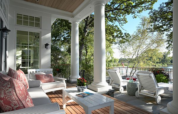 Stylish porch decor Three Easy Porch Pick Me Ups