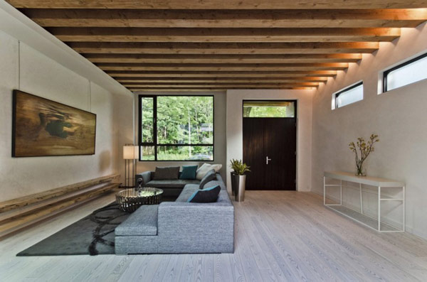 Sustainable Residence in Montreal 2 Sustainable Montreal House Showcases How Modern Homes Can Be Ecological and Ergonomic