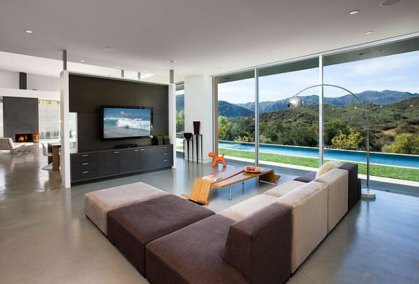 where to put tv in living room how to incorporate your tv into your home decor 27099