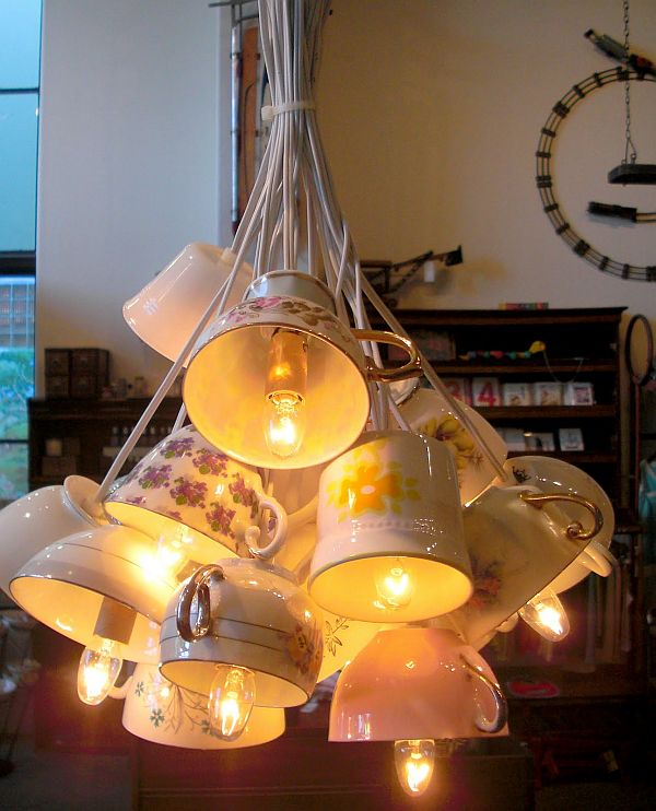 Diy Lighting Upcycling Household Products To Quirky Light Fixtures