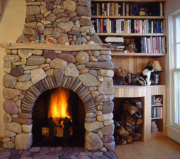 Traditional Home Fireplace Decoist